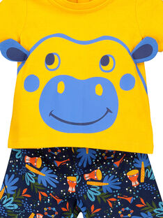 Pijama calções bebé menino FEGAPYJUN / 19SH14H1PYJ402