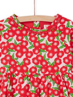 Vestido de mangas compridas estampado florido LAROUROB1 / 21S901K1ROBF517