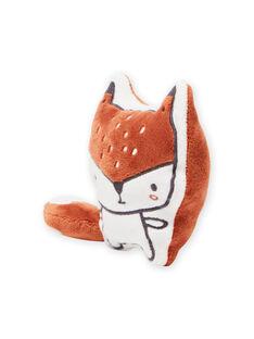 Peluche padrão raposa suave recém-nascido unissexo MOU1BOI1 / 21WF4242JOU001