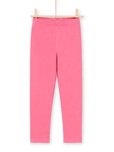 Conjunto pijama camisa de noite e leggings azul-marinho e rosa menina MEFACHUCAT / 21WH1181CHN070