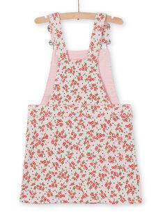 Vestido jardineira estampado florido LAROUROB2 / 21S901K2ROBD326