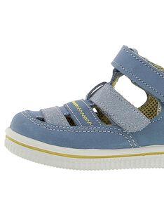 Baby boys' leather T-bar shoes CBGSALORI / 18SK38W5D3HC218