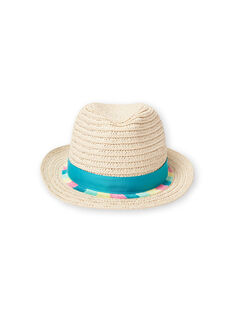 Chapéu de palha criança menina LYAVERHAT / 21SI01Q1CHA009