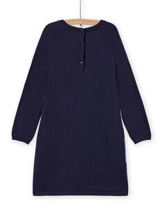 Vestido de mangas compridas padrão decorativo unicórnio menina MAPLAROB1 / 21W901O2ROBC202