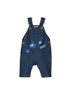 Jardineiras de ganga bebé menino FUNESAL / 19SG10B1SAL704