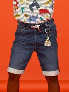 Bermudas de ganga azul criança menino LOVIBER1 / 21S902U1BERP274