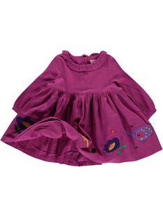 Baby girls' dress DIVIOROB2 / 18WG09H2ROBD312