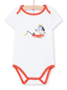 Body branco estampado bebé menino LEGABODMAR / 21SH14G5BDL000