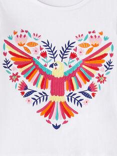 T-shirt de mangas curtas bordadas JAMARTI3 / 20S901P3TMC000