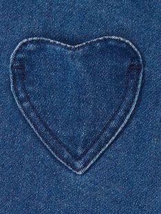 Calças de ganga azuis bebé menina LIHAPANEX / 21SG09X2PANP270