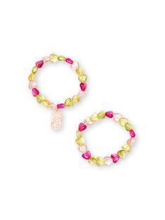 Lote de 2 pulseiras criança menina LYAJAUBRA / 21SI0171BRC116