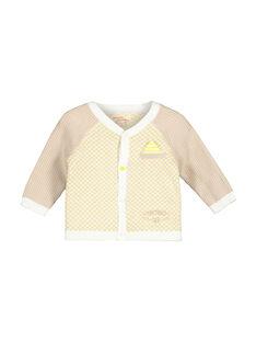 Casaco de malha bebé menino FUPOGIL / 19SG10C1GIL099