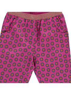 Baby girls' trousers CIGAUPAN / 18SG09L1PAN099