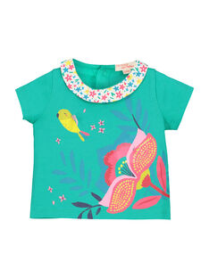 T-shirt mangas curtas bebé menina FICABRA / 19SG09D1BRA209