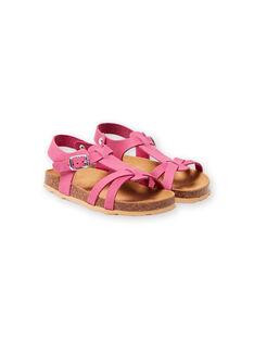 Sandálias rosa menina LFNUROSE / 21KK355SD0E030