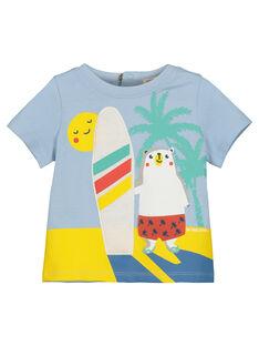 T-shirt estampado bebé menino FUCUTI1 / 19SG10N1TMC213
