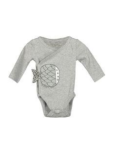Body de mangas compridas bebé unissexo FOU1BOD1 / 19SF7711BOD943