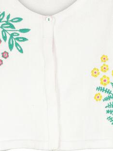 Casaco boléro de algodão menina FACACAR1 / 19S901D1CAR000
