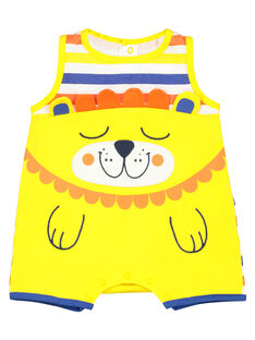 Babygro calções bebé menino FEGAGRERAY / 19SH14H6GRE099