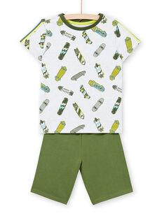 Pijama cinzento mesclado criança menino LEGOPYCSPOR / 21SH12CAPYJJ920