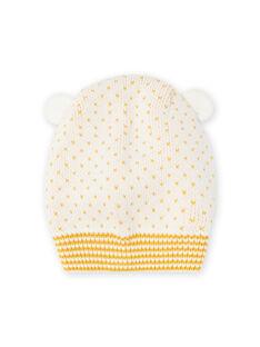 Barrete de malha cru com detalhes de orelhas bebé menina MYICOBON / 21WI0965BON001