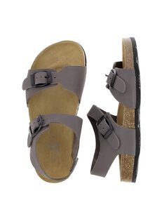 Boys' leather sandals CGNUGRIS / 18SK36W7D0E940