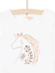 T-shirt cru menina MAJOYTEE3 / 21W90111TML001