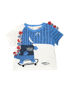 T-shirt de mangas curtas bebé menino FUTOTI2 / 19SG10L2TMC000
