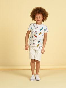 Bermudas cinzento mesclado - Criança menino LOPOEBER / 21S902Y1BER943