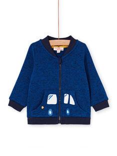 Teddy azul-noite bebé menino LUJOGIL3 / 21SG1031GIL713