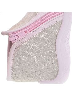 Baby girl's boot slippers. CBFBOTPAIL / 18SK37X7D0A030
