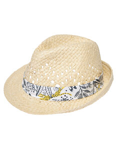 Chapéu de palha menino JYOTROCHA / 20SI02F1CHA009
