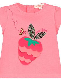 T-shirt estampado bebé menina FIYETI / 19SG09M1TMC309