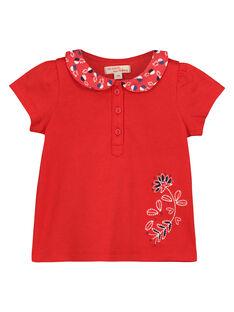 T-shirt gola Peter Pan bebé menina FITOBRA / 19SG09L1BRA330