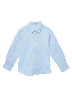 Camisa menino azul claro JOESCHEM1 / 20S90262D4GC218