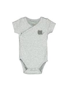 Body de mangas curtas bebé unissexo FOU2BOD4 / 19SF77J4BOD943