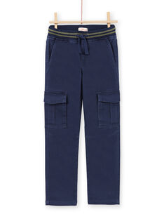Calças azul-escuro menino MOJOPAMAT1 / 21W90228PAN705