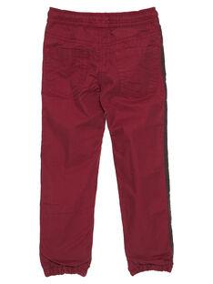 Calças acolchoadas vermelho GOBRUPAN1 / 19W902K2PAN511