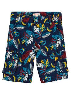 Bermudas fantasia com bolsos menino FOTUBER5 / 19S902F5BER070