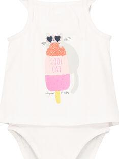 Body efeito 2 em 1 bebé menina FICUBOD / 19SG09N1BOD000