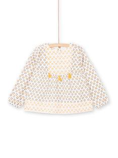 Blusa branca e amarela estampado florido LAPOECHEM / 21S901Y1CHE001