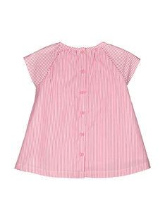 Vestido às riscas bebé menina FICOROB1 / 19SG0981ROB030