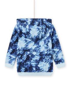Sweat com capuz tie and dye menino MOPLASWE / 21W902O1SWEC208