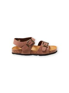 Sandálias castanhas menino LGNUMARRON / 21KK3657D0E802