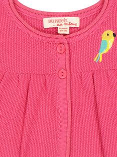 Casaco bolero de lã bebé menina FICACAR1 / 19SG09D1CAR302