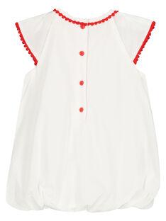 Vestido largo bordado bebé menina FITOROB2 / 19SG09L2ROB000