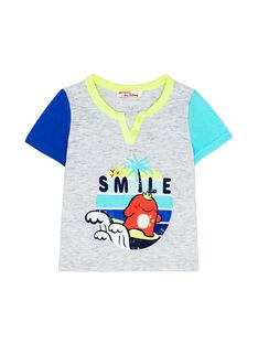 T-shirt Mangas Curtas Cinzento JUQUATI2 / 20SG10R2TMCJ906