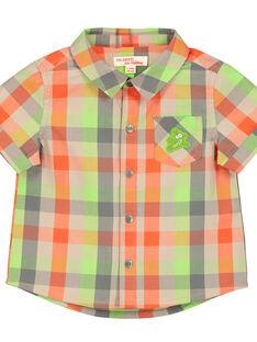Camisa aos quadrados bebé menino FUYECHEM / 19SG10M1CHM099