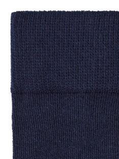 Collants azul-marinho bebé menina LYIESCOL9 / 21SI0962COL070