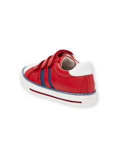 Sapatilhas vermelhas e azuis menino JGBASLIAGR / 20SK36Y2D3F050